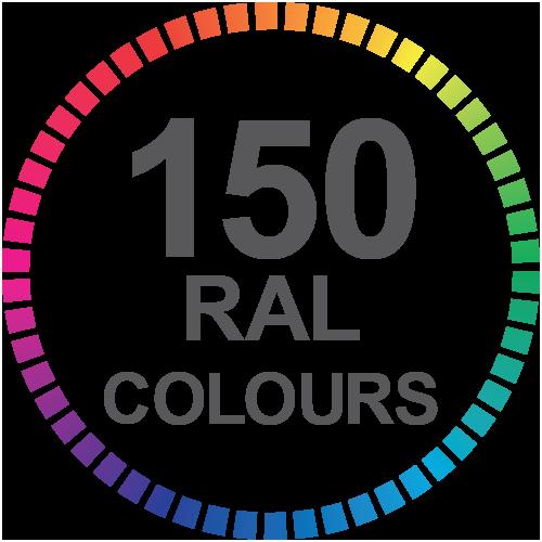 150 Bi-Fold Doors Ral Colours