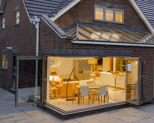 Moving Corner Bi Fold Doors