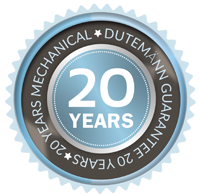 20 Years Dutemann Guarantee