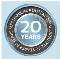 20 Years Bi Fold Door Dutemann Guarantee