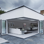 Moving-corner-bifold-door